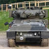 The very successful light armoured recon vehicle , The Scorpion'