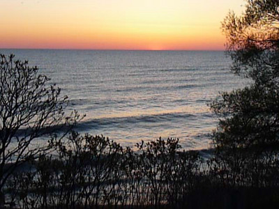 Lake Michigan at Racine, WI