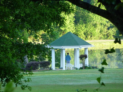 Gazebo at St Mary of the Pines