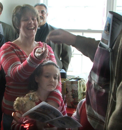 Tessa's Dedication Dec 2, 2009 - Thrivent Builds