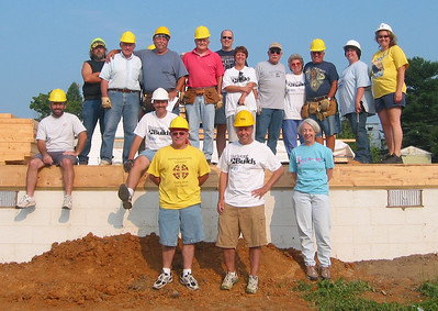 Thrivent Builds Wall Raising Day July 11, 2009
