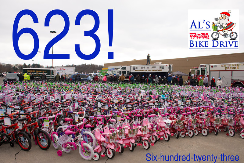 2016 Bike Drive Summary Picture