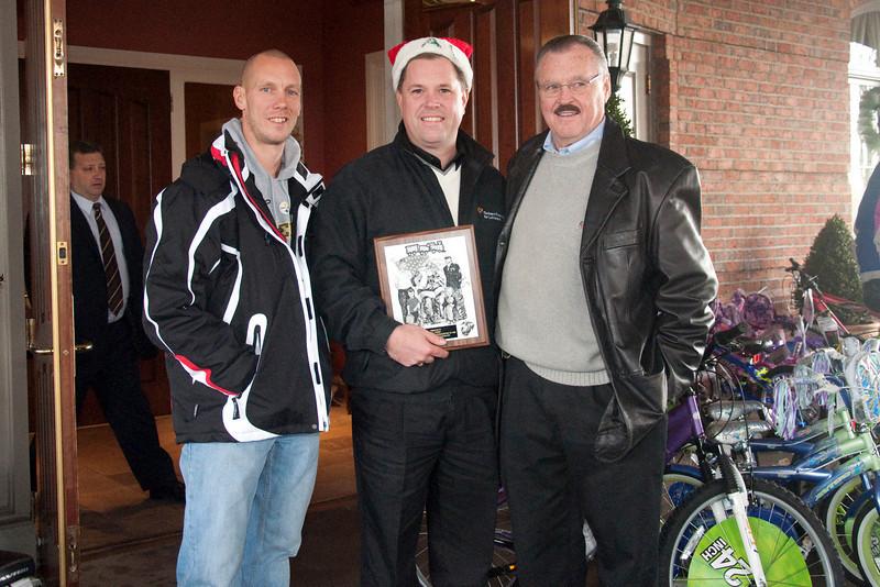 Ken Ebbert, Al Todd & Al Todd, Sr.