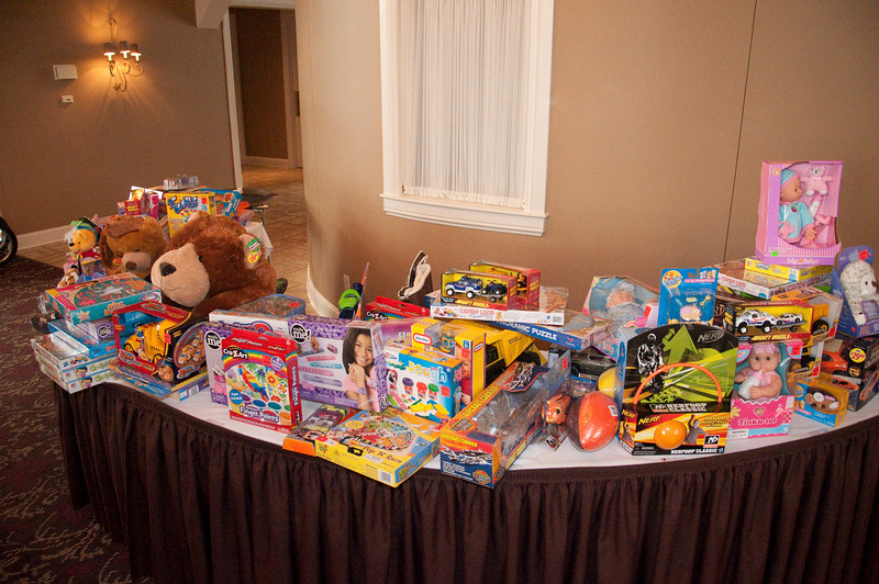 In addition to the bikes, loads of other toys were donated by my colleagues at NAIFA.