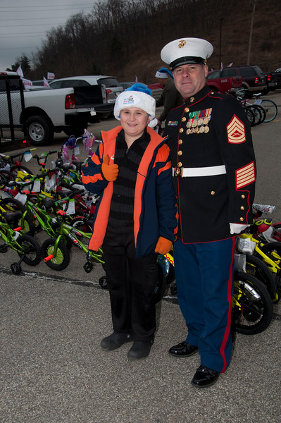 Adam Todd and Gunnery Sgt. Kevin Geppert