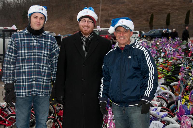 Stefen Boehringer, Heath Kaydo and Mike Bechak