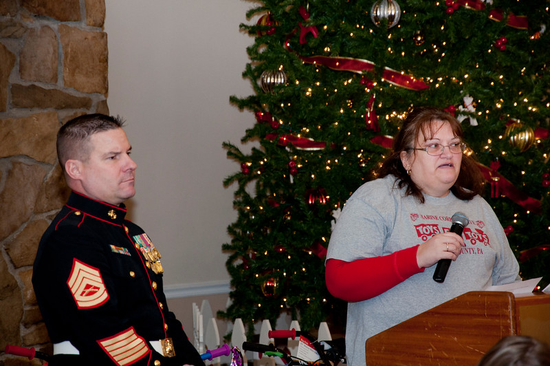 Kevin Geppert & Linda McKenzie who lead the two Marine groups we feed into! The real heroes!