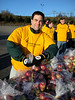 Paul Edwards packages apples.