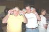How many hams can you count? I see six! Chuck Taylor and Al Todd