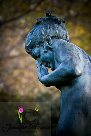 """December 8, 2008<br /> <br /> Taken at the Dallas Arboretum. Our oldest daughter laughed when she saw this photo and said """"Mom! Eeewwww.  Looks like she is picking her nose!""""<br /> <br /> Maybe I should be a bit more aware of my angles next time.  LOL"""