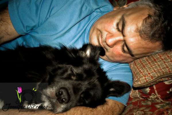 November 17, 2008 - My Two Guys<br /> <br /> My husband Ian and his best buddy Eli.