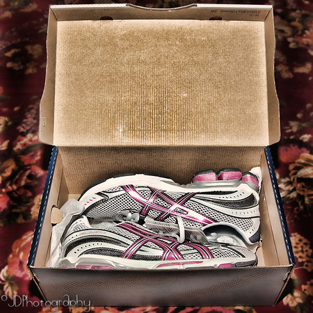 October 28, 2009 - Yesterday was a day of total running around....  so much so I had to get new running shoes. ;)