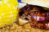 July 25th.  A Texas summer tradition - slow cooked BBQ brisket, corn on the cob and beans.<br /> <br /> This was dinner last night - tonight will be leftovers.