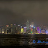 Hong Kong Water Front at Night