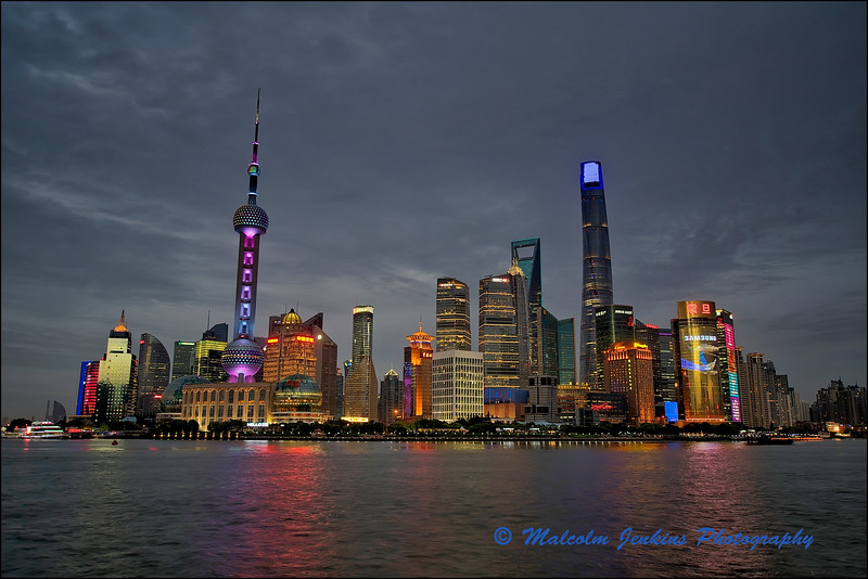 Pudong in the Evening