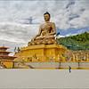 The Largest Buddha in Bhutan