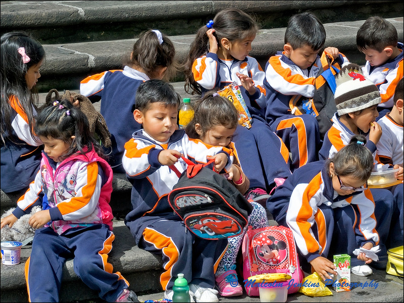 School Trip to Quito City - Well Behaved Kids!