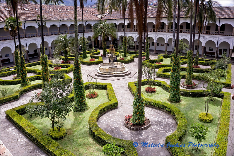 The Walled Gardens of The Church and Convent of St. Francis