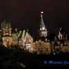 Parliament in Ottawa by Night