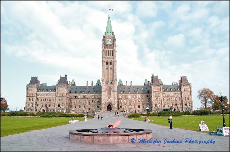 Parliament in Ottawa