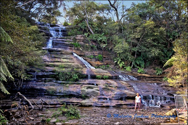 Waterfall At Katoomba