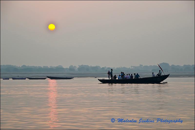 Break of Dawn on The Ganges
