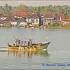 Dawn on the River in Cochin