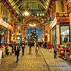 Leadenhall Market Before Christmas