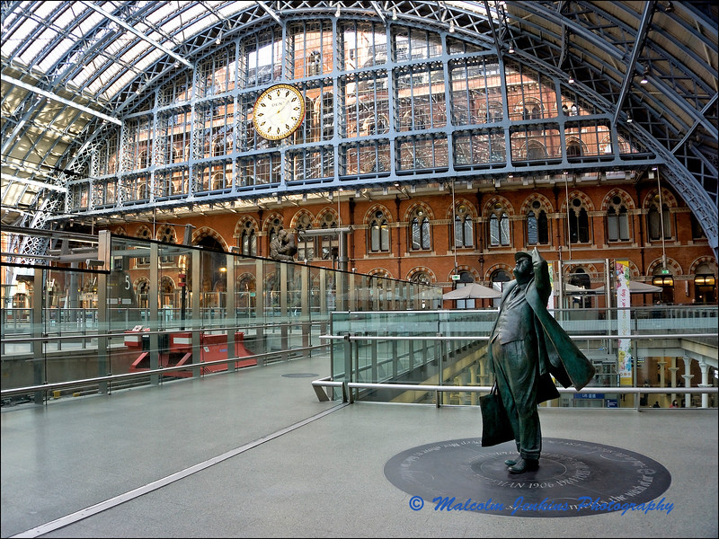 Sir John Betjeman, St Pancras International