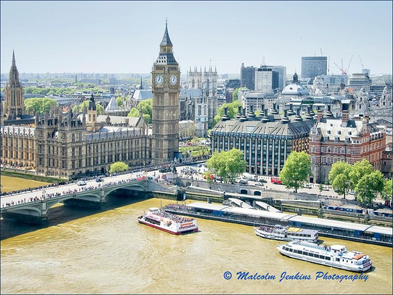 Big Ben fron The London Eye