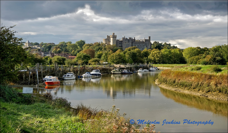View Towards Arundel Castle
