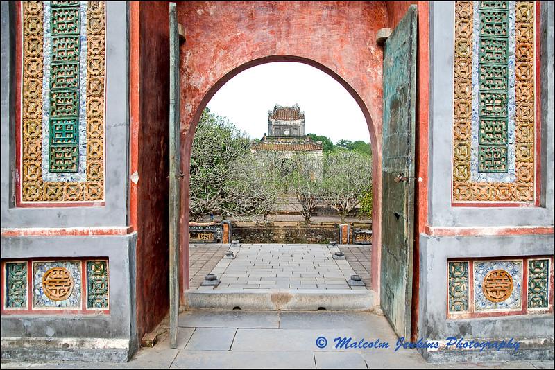 Doorway to Royal Tombs