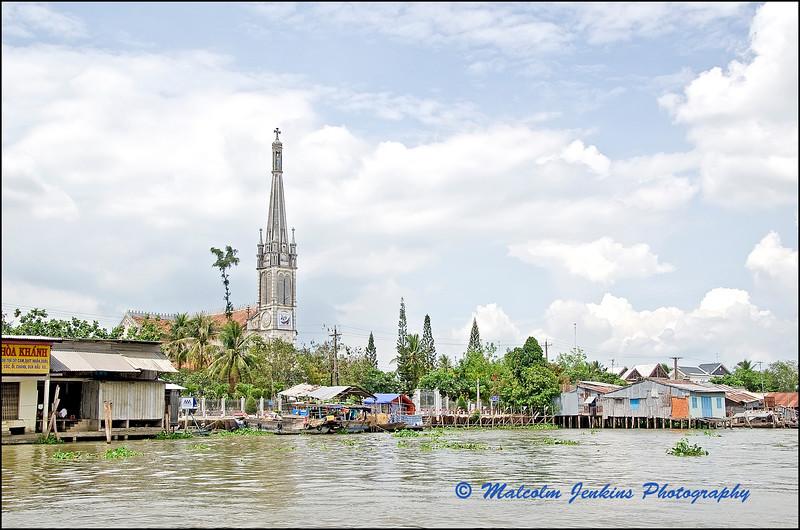 The Mekong Riverside