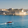 Valletta - View towards Fort St Angelo