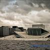 The Glacier Opera House in Oslo