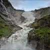 The Kjosfossen Waterfall