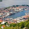 View of Bergen Old Port