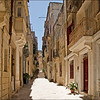Valletta - Old Street in Vittoriosa