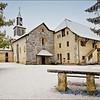 The Church at Peillonnex in Winter / L'Eglise de Peillonnex en Hiver