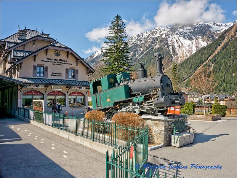 Mer de Glace: Original Rack & Pinion Train