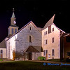 The Church at Peillonnex  (night) / L'Eglise de Peillonnex (nuit)