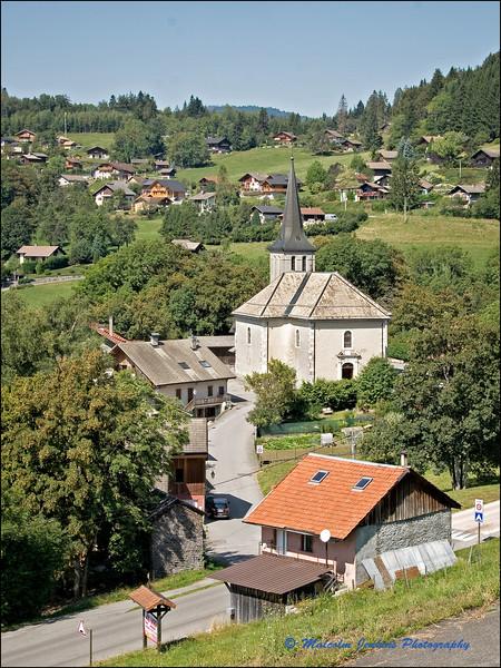 The Church at Bogève / L'Eglise de Bogève