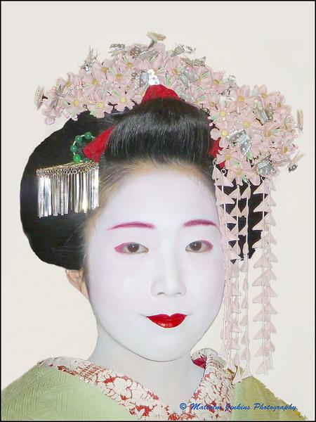 Study of a Geisha (Middle)