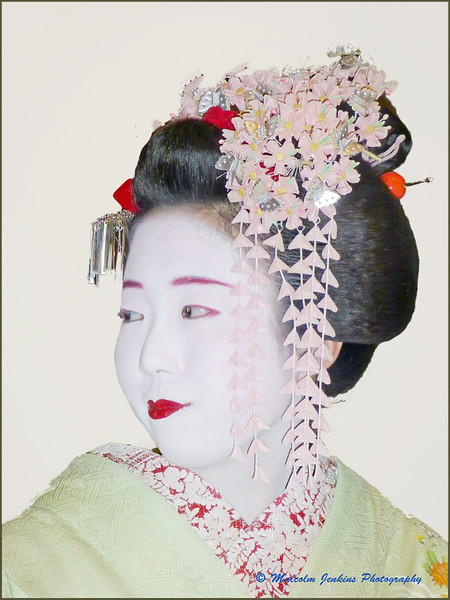 Study of a Geisha (Right)
