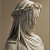 The Veiled Bride Statue by Raffaele  Monti
