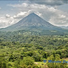 The Arenal Active Volcano