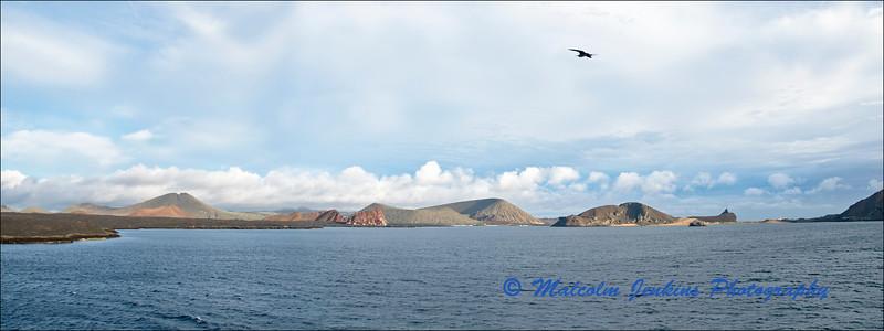 View Towards Sullivan Bay and Bartolome Island
