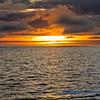 Crossing The Equator - Sunset