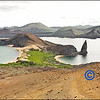 Pinnacle Rock On Bartolome Island - Panoramic View