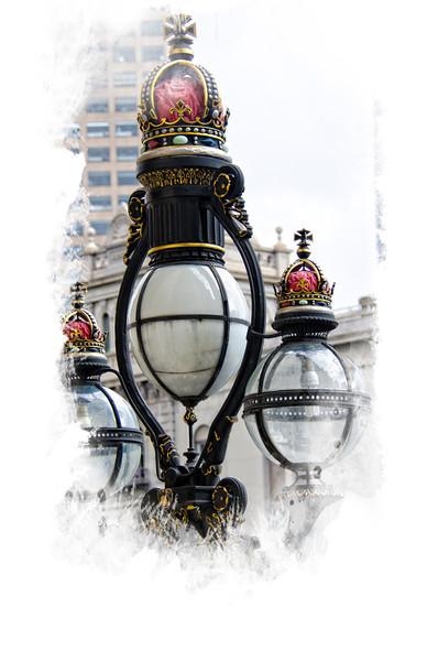 Lanterns at Parliament Building Melbourne